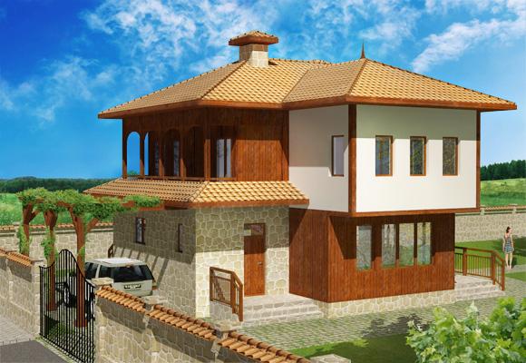 Еднофамилна къща ВИТРА, архитект Стефан Стефанов 2014