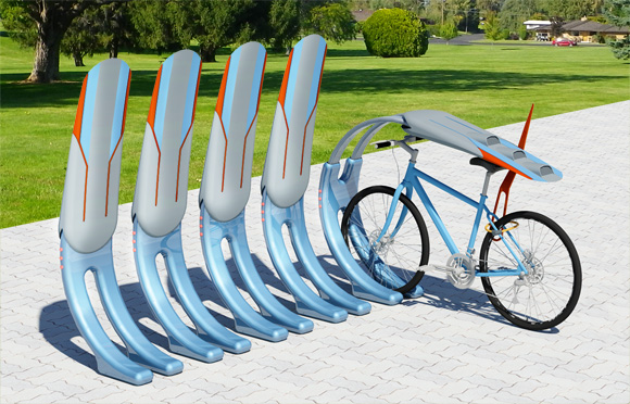 "BIKE RACK ""TOTEM"", national competition,  Plovdiv - ECC 2019 candidate"