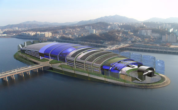 THE SEOUL PERFORMING ARTS CENTER,   Nodeul Island, Seoul, South Korea
